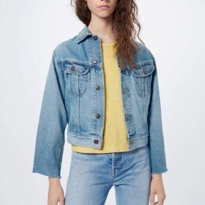 Re/Done   Distressed 70s Rodeo Denim Jacket NWT